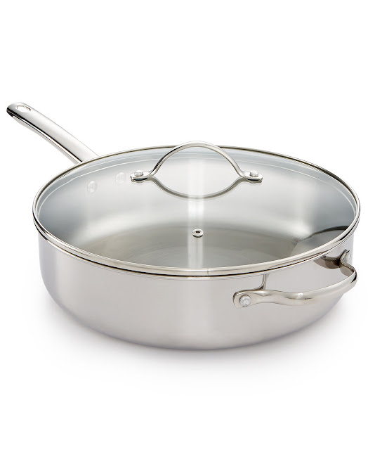 Macy's: Tools of the Trade 6qt Pan with Lid only $16 (reg $60) + Free Shipping!