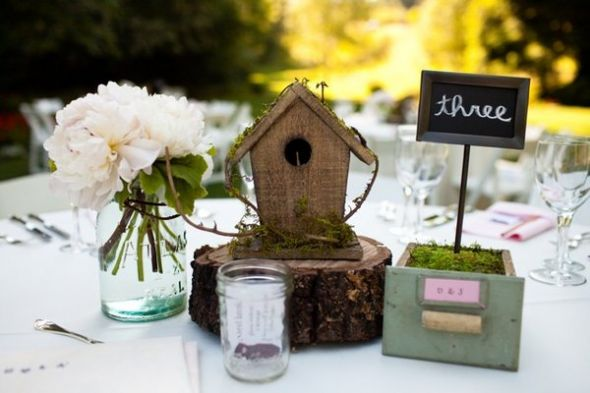 De Lovely Affair Love Birds Decor Wedding Trend