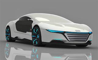 سيارة أودي التي يمكنها تغيير اللون و إصلاح نفسها من الأضرار تلقائيا!