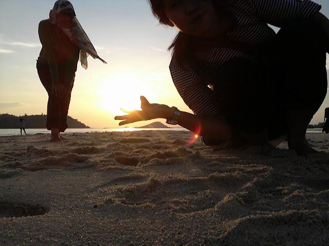 Sunset Pantai Setokok