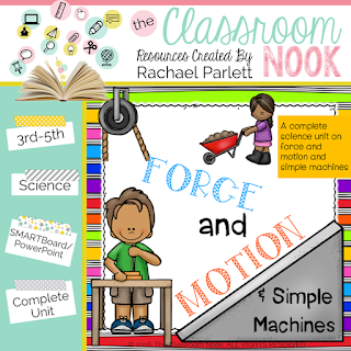 Check out this complete unit for teaching force and motion in the upper elementary classroom