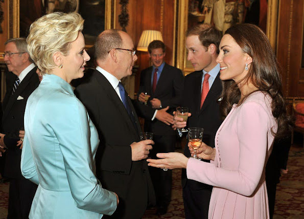 İnterview with Princess Charlene about wedding rumours, her friendship with Queen Maxima and 'lovely' Kate Middleton