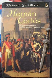 Portada del libro Hernán Cortés, de Richard Lee Marks