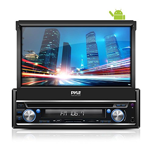 UNITOPSCI Double Din Car Radio Andriod 8.1 Car Stereo with Bluetooth Support WiFi GPS Navigation Android//iOS Mirror Link Reverse Camera SWC DVR USB FM TF 7 HD Touch Screen 1G+16G Car MP5 Player