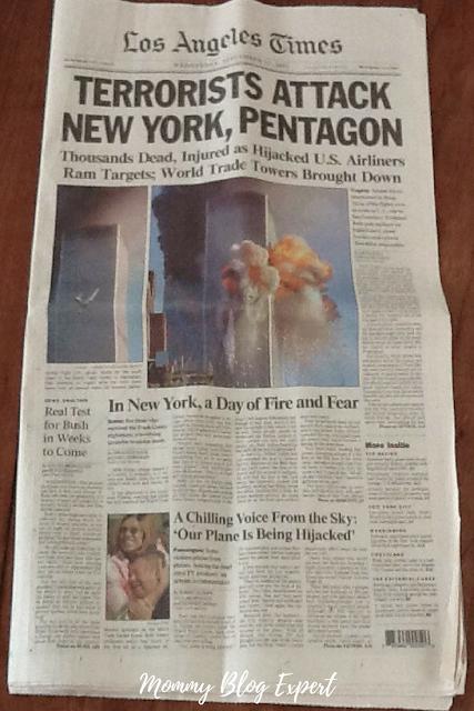 September 11 2001 Headlines