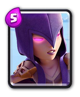 Cartas Clash Royale - Bruxa
