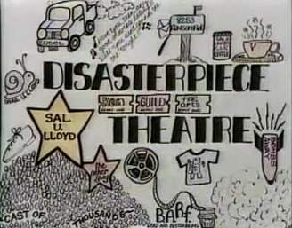 Disasterpiece Theater poster made by a fan
