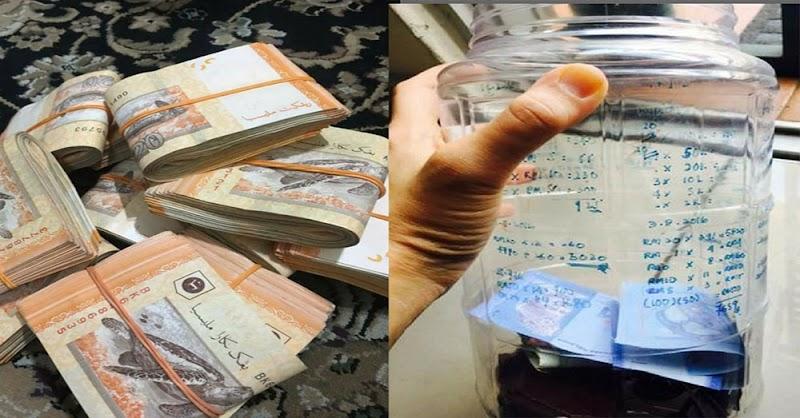Tips dan cara menyimpan RM12600 setahun