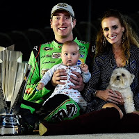 """""""I think history in our sport is special. It's fun to be able to come to these racetracks that have a lot of history and Martinsville is right there at the top,"""" Martinsville winner Kyle Busch said."""