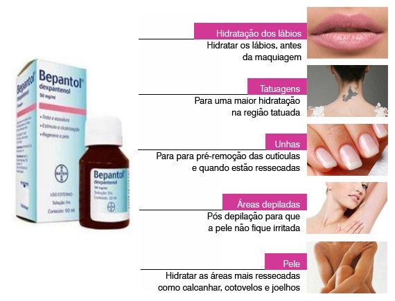 Dicas de Uso de Bepantol - Cabelos, unhas, cuticulas e hidratação da pele