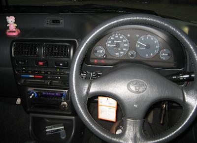 Interior Toyota Starlet Kapsul GT Turbo