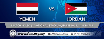 Live Streaming Yemen vs Jordan AFC U16 27.9.2018