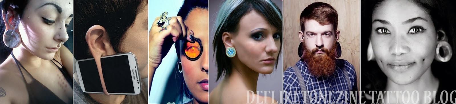 Эротические фотографии девушек с тонелью в мочке уха — photo 1