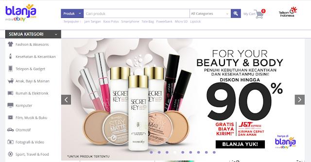 Kemudahan transaksi di blanja.com sebagai toko online terpercaya