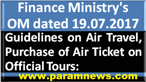 guidelines-on-air-travel-on-official-tour-paramnews-order