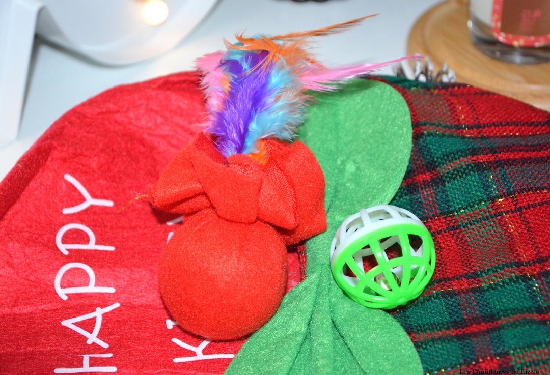 cadeau noel - cadeau de noel pour chat - chat - chaton - jouets pour chats - amusement chat - idee cadeau de noel pour chat