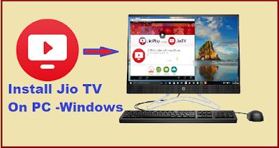 Jio tv for pc windows