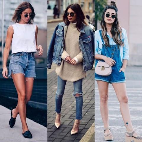 TENDÊNCIA: Quem disse que não da pra ser elegante com JEANS? ♥