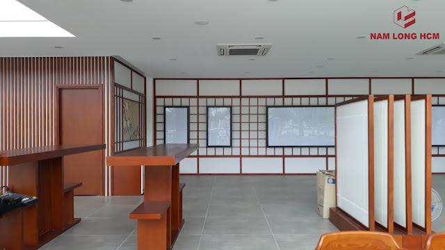 Khu nhà mẫu - nhà điều hành Akari City