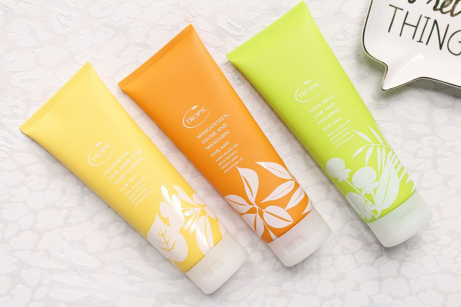 Tropic Body Washes
