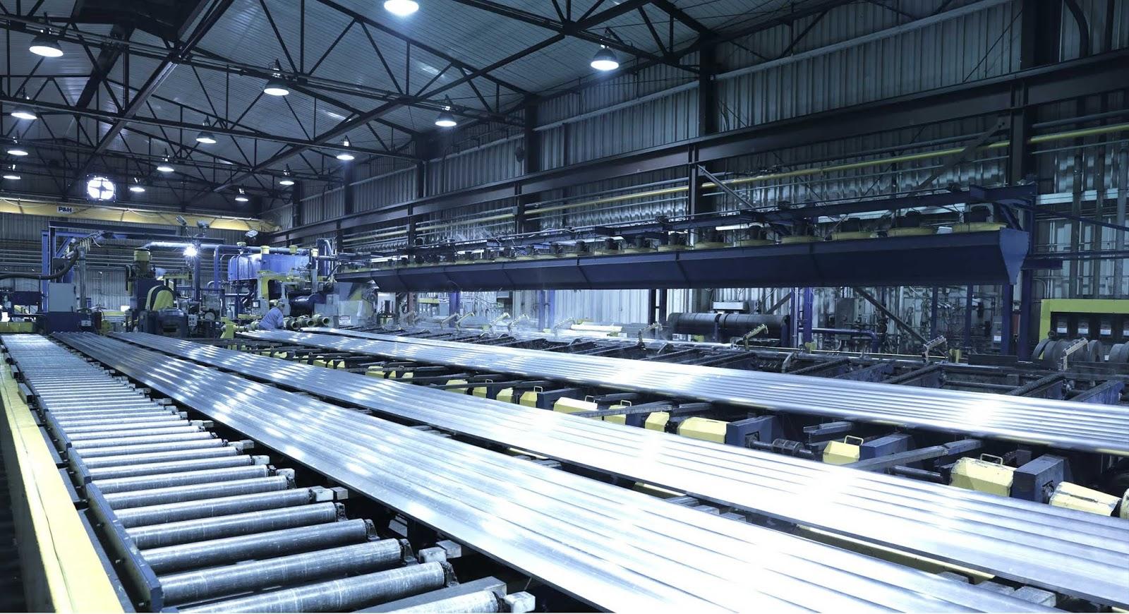 Proses extrusi merupakan tindakan lanjutan dari aluminium paduan