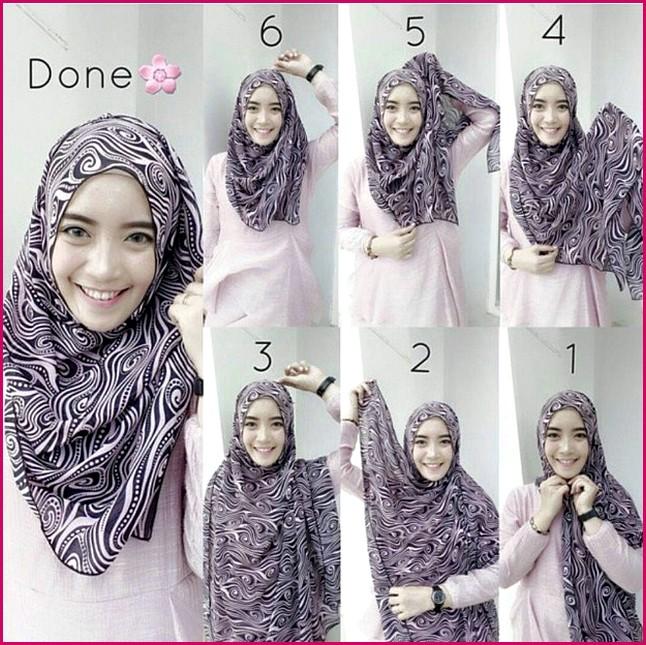 Tutorial Hijab Modern Tanpa Ciput Ninja Dalaman Tutorial Hijab Dan