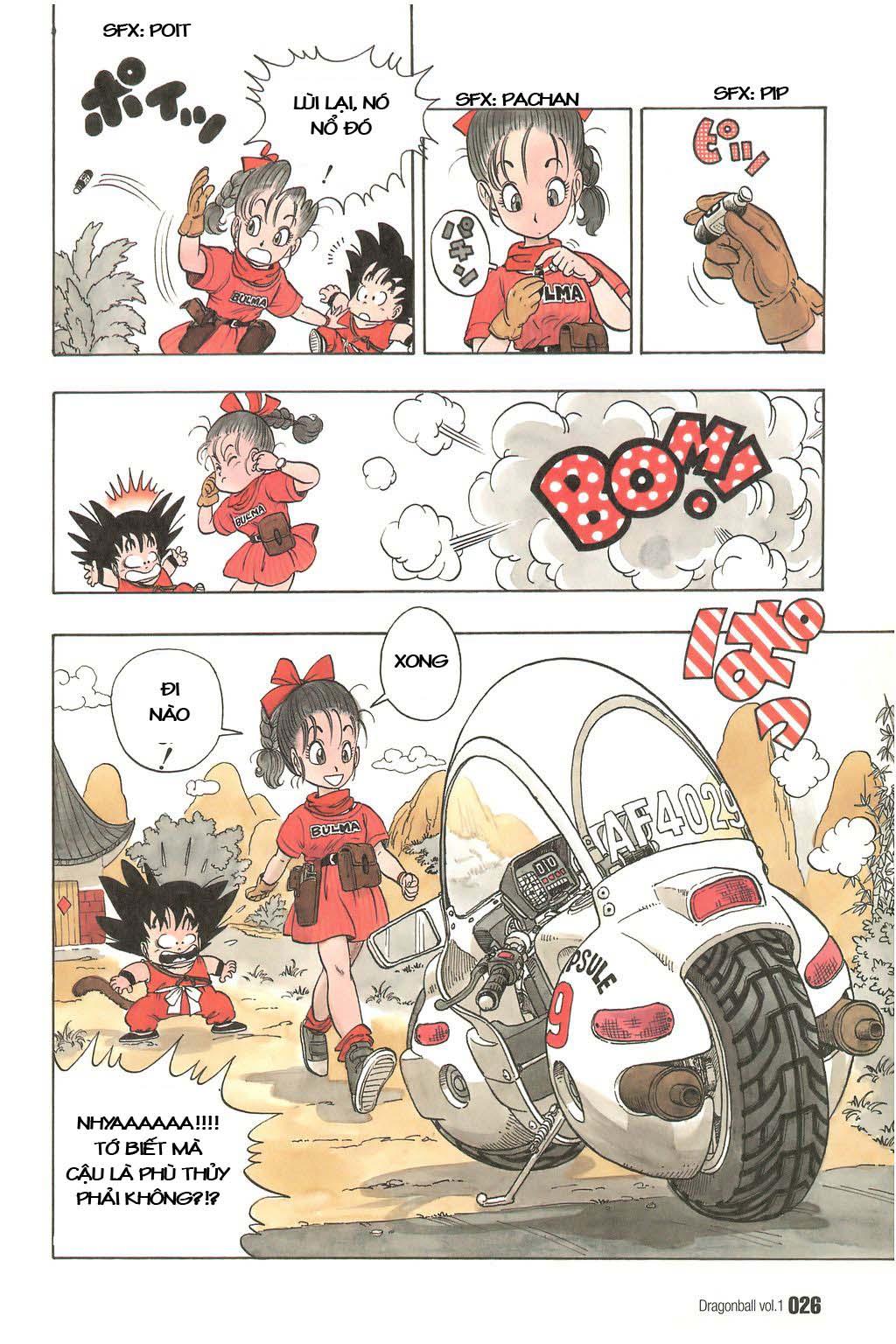 Dragon Ball chap 1 trang 29
