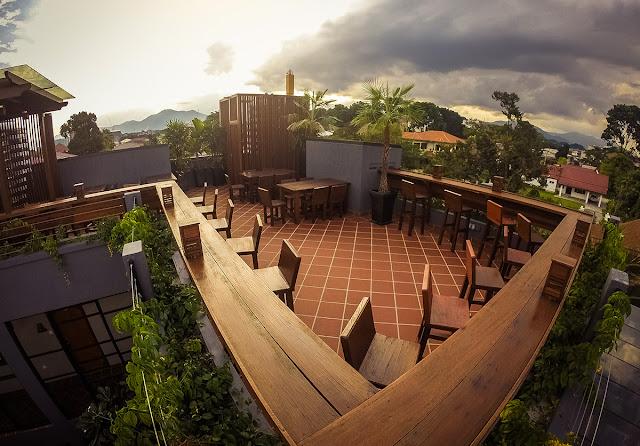 Ipoh Bali Hotel roof top