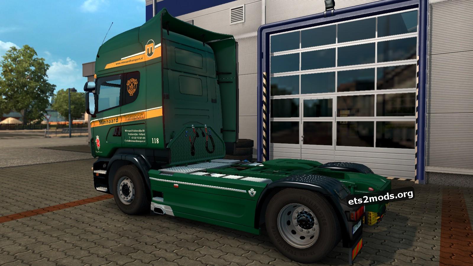 Minnaard Transport Skin for Scania RJL