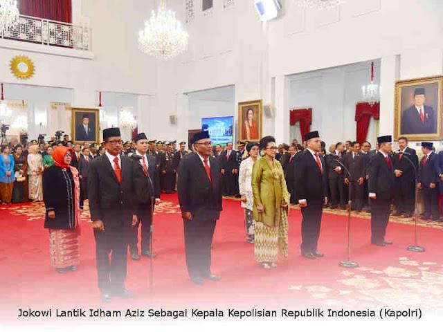 Jokowi Lantik Anggota Komisi Kejaksaan Republik Indonesia