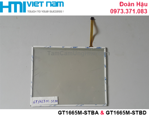 Tấm cảm ứng HMI GT1665M-STBA