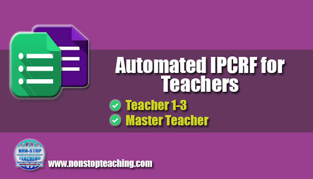 Automated IPCRF for Teachers