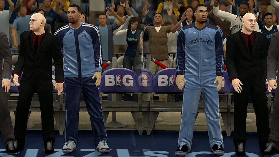 Memphis Grizzlies Bench Uniform