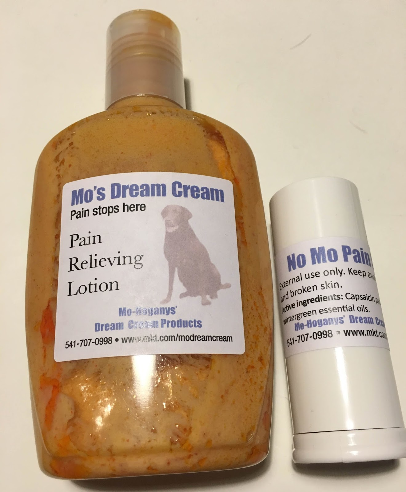 Getting Closer To Myself: Product Review: Mo's Dream Cream