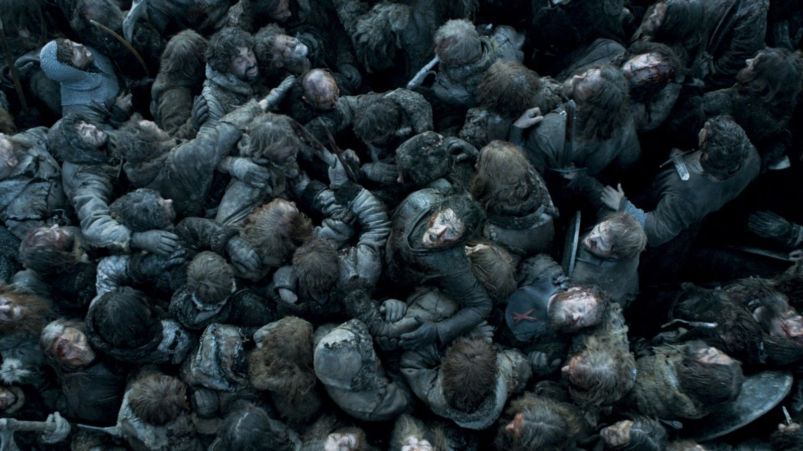 Jon saliendo a flote Juego de Tronos