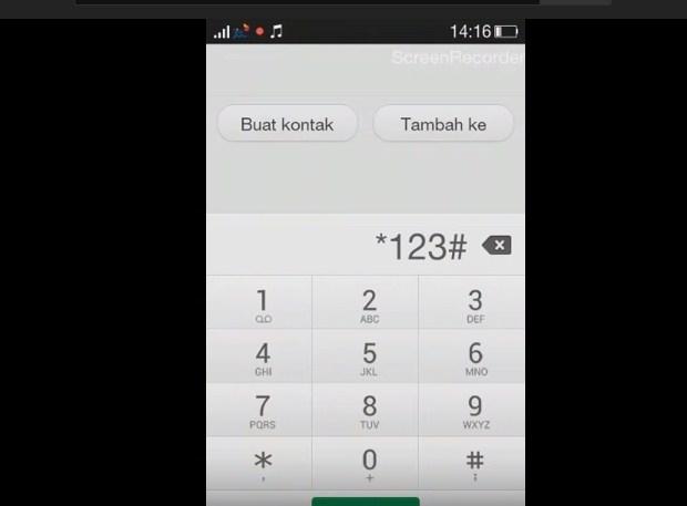 Dengan Dial Telepon Untuk Mengecek Kuota XL