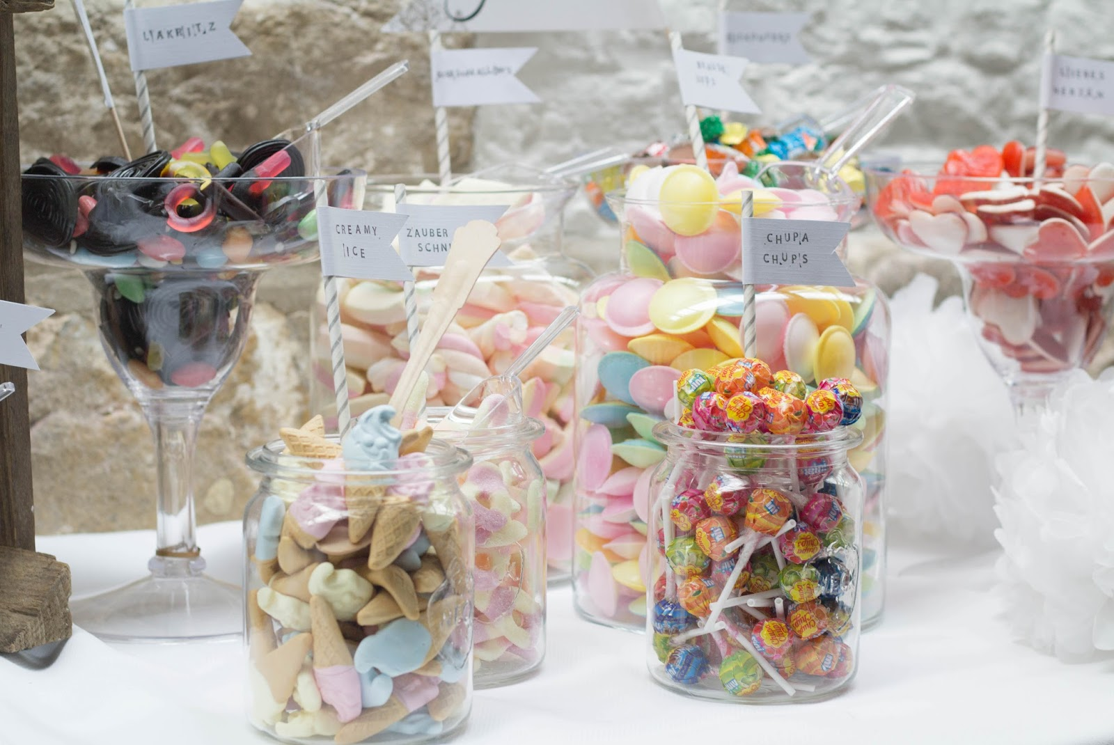 How to: DIY Candy Bar für die Hochzeit | Victoria\'s Little Secrets