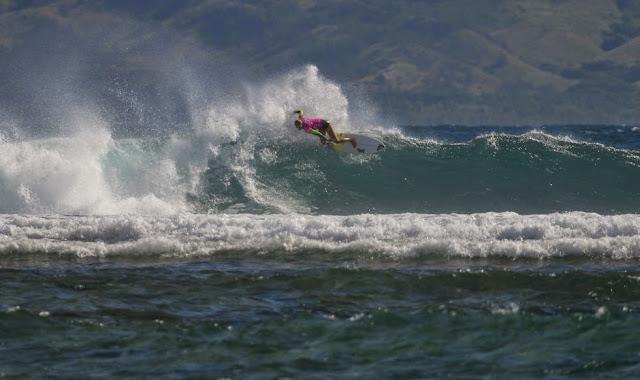 2014 Fiji Womens Pro Stephanie Gilmore Round 3 Heat 1 Foto ASP Robertson