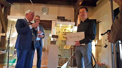 Erik van Elven wins Haagse Schooldag 2016 award