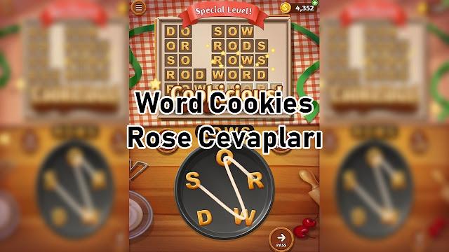 Word Cookies Rose Cevaplari
