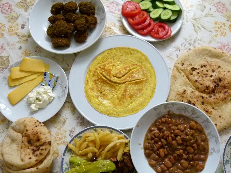 Menüvorschlag ägyptisches Frühstück Oder Brunch Für Gäste