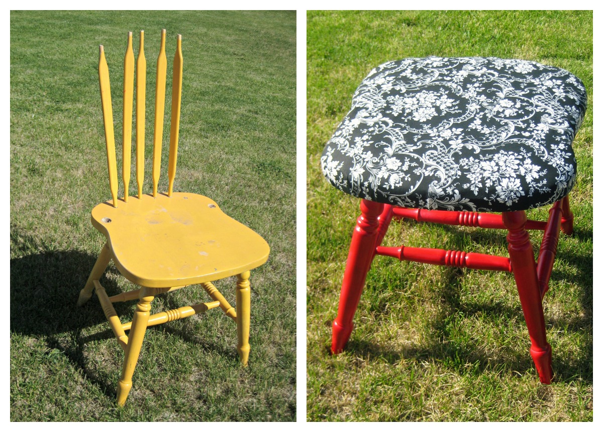 Chair Covers Craft Ideas Makeup Vanity Chairs Upcycled Crafts Week 2 Tauni 43 Co