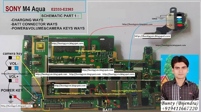 Sony Xperia M4 E2333 E2363 Power On Off Button Ways Jumper Switch Solution