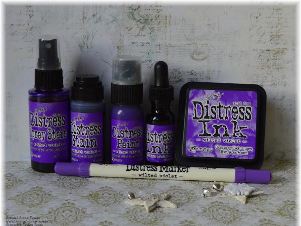 Zářizová barva od Ranger - Wilted Violet