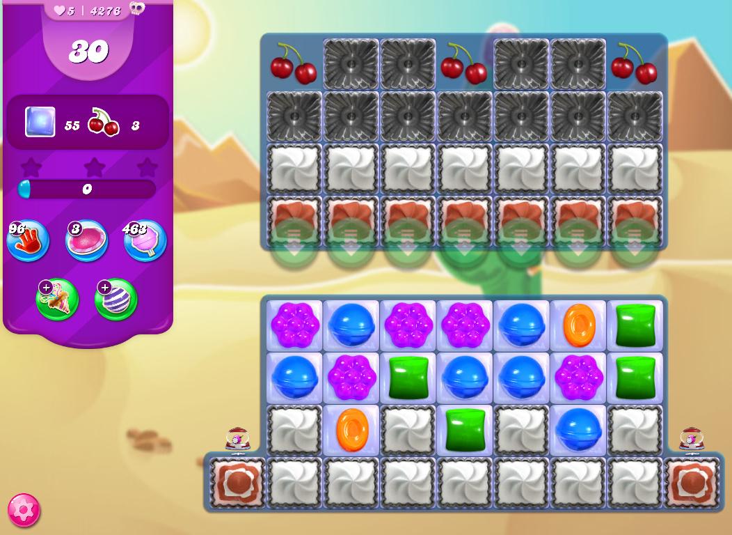 Candy Crush Saga level 4276