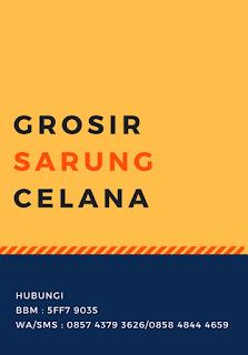 produsen distributor agen grosir jual sarung instan semarang pekalongan solo sidoarjo surabaya purwokerto