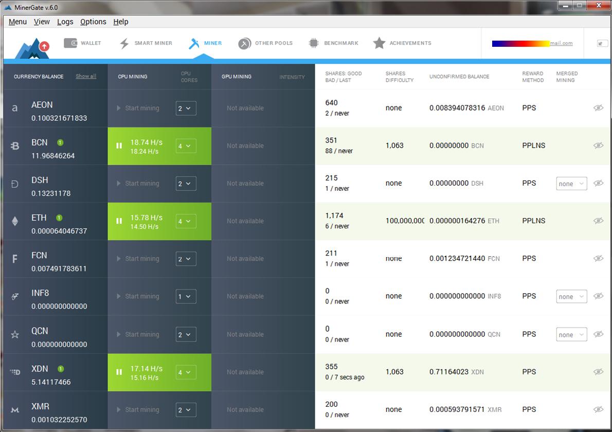 عملة البتكوين Bitcoin, ماهى عملة البتكوين, شرح البتكوين, شرح العملات الرقمية, تعدين عملة البتكوين, مواقع تعدين عملة البتكوين, تعدين العملات الرقمية المشفرة, موقع minergate لتعدين البتكوين, ETH, XDN, BCN