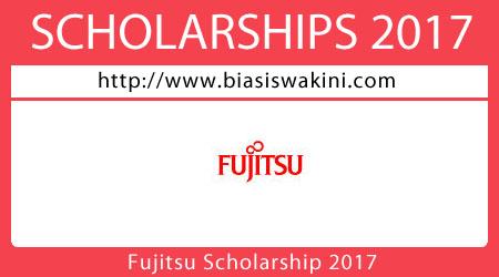 Fujitsu Scholarship 2017