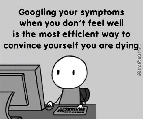 should you google for your symptoms