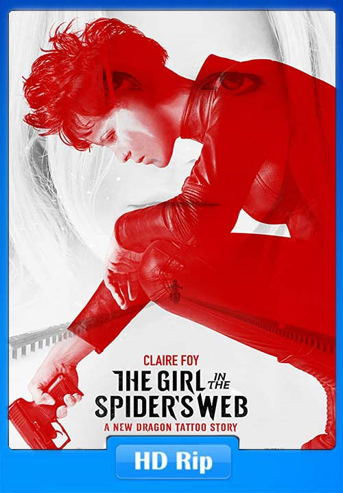 The Girl in the Spiders Web 2018 Hindi 720p HDRip x264 | 480p 300MB | 100MB HEVC Poster